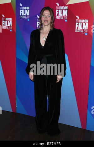 The BFI 62nd London Film Festival World Premiere of 'The Fight' held at the Picturehouse Central - Arrivals  Featuring: Jessica Hynes Where: London, United Kingdom When: 17 Oct 2018 Credit: Mario Mitsis/WENN.com - Stock Photo