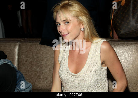 NEW YORK, NY - JULY 10:  Actress Tenealle Farragher attends Retro Wednesdays hosted by former New York Yankee Billy Sample at the XVI Rooftop Lounge on July 10, 2013 in New York City.  (Photo by Steve Mack/S.D. Mack Pictures) - Stock Photo