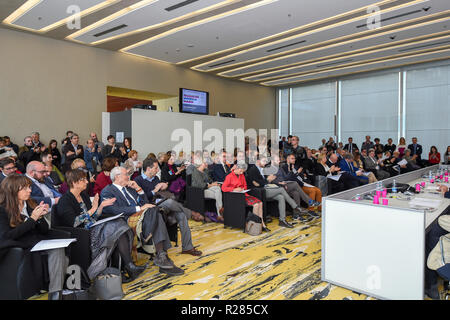 Foto Claudio Grassi/LaPresse 17 novembre 2018 Milano, Italia  Cronaca Family Day 2018 - Stock Photo
