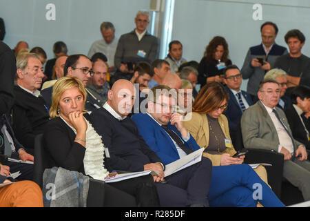 Foto Claudio Grassi/LaPresse 17 novembre 2018 Milano, Italia  Cronaca Family Day 2018 Nella foto: - Stock Photo