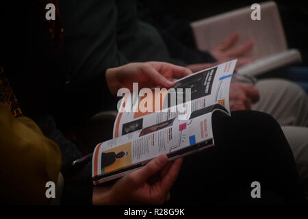 London, UK. 17th Nov, 2018. Mariza, ComIH, born Marisa dos Reis Nunes, is a popular Portuguese fado singer Live concert at Royal Festival Hall on 17 November 2018, London, UK Credit: Picture Capital/Alamy Live News - Stock Photo