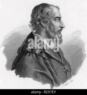 LUDOVICO ARIOSTO (1474-1533) Italian poet - Stock Photo