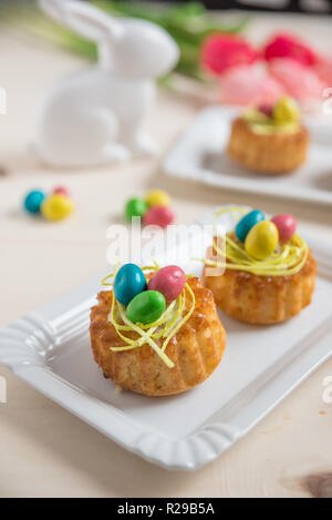 Easter Muffins - Stock Photo
