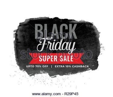 4f21dfad142 Black friday sale watercolor vector texture background. Grunge hand ...