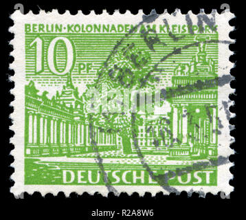 Postage stamp from Berlin issued in 1949 - Stock Photo