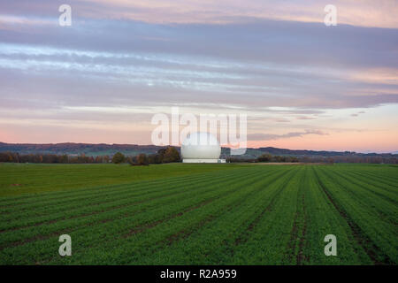 Radom, Erfunkstelle Raisting, Bavaria, Germany - Stock Photo