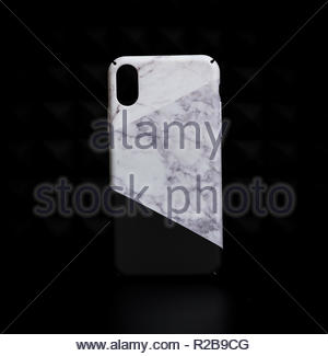 Marble stone design iphone x iphone xs iphone 7 iphone 8 phone cases - Stock Photo