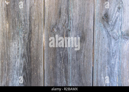 Old natural wood planks textured background, natural grey hue, tint - Stock Photo