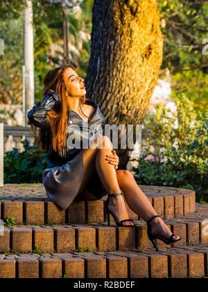 Teen girl aka young woman - Stock Photo