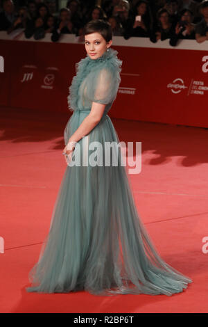 13th Annual Rome Film Festival - 'Bad Times at the El Royale' - Premiere  Featuring: Cailee Spaeny Where: Rome, Italy When: 18 Oct 2018 Credit: IPA/WENN.com  **Only available for publication in UK, USA, Germany, Austria, Switzerland** - Stock Photo