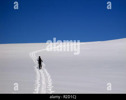 ski tour - Stock Photo