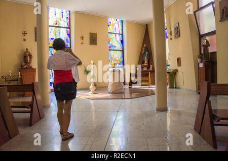 The Saint Paul's Cathedral in Tirana, the capital and biggest city of Albania. September 7, 2018. (CTK Photo/Libor Sojka) - Stock Photo