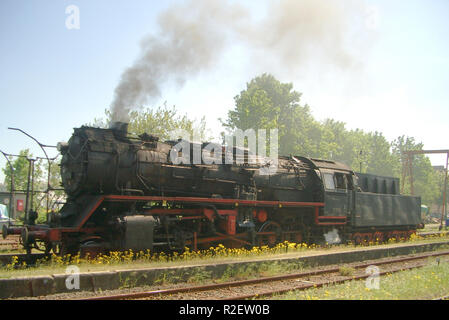 br 50 built in 1940 without smoke deflectors - Stock Photo