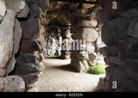 grotto in the park of schwerin