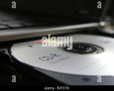 cd blank - Stock Photo