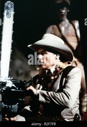The Texas Chainsaw Massacre 2  Year : 1986 - USA Director : Tobe Hooper Dennis Hopper - Stock Photo