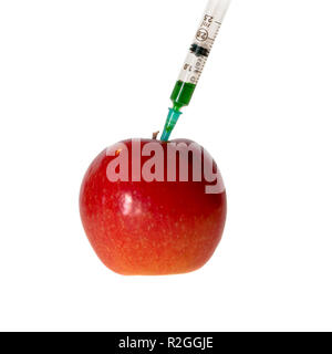 Concept image of genetically modified agricultural crops