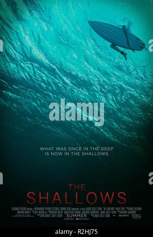 The Shallows Year : 2016 USA Director : Jaume Collet-Serra Movie poster (USA) - Stock Photo