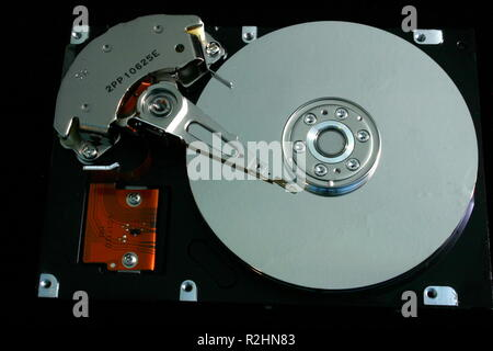 inside hdd - Stock Photo