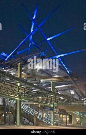 centro o - new centre in oberhausen - Stock Photo