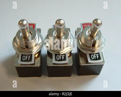 toggle switch - Stock Photo