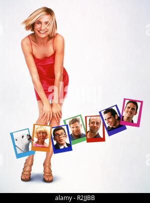 There's Something About Mary  Year : 1998  USA Director : Bobby Farrelly, Peter Farrelly Cameron Diaz Movie poster (creditless) - Stock Photo