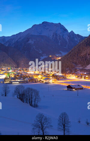 Austria, Tyrol, Zillertal, Mayrhofen - Stock Photo