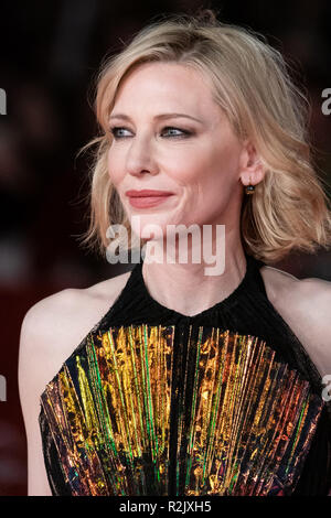 13th Rome Film Fest - The House With A Clock In Its Walls - Premiere  Featuring: Cate Blanchett Where: Rome, Lazio, Italy When: 19 Oct 2018 Credit: WENN.com - Stock Photo