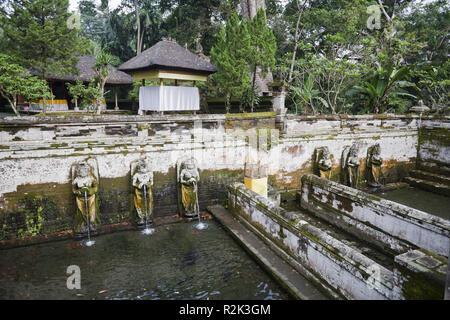 Indonesia, Bali, Ubud, temple 'Pura Goa Gajah', - Stock Photo