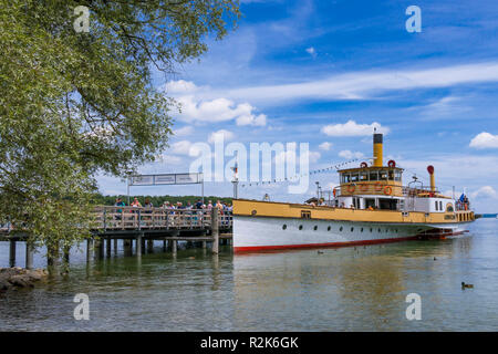 Herrenchiemsee, Chiemsee, Palace, Bavaria, Germany - Stock Photo