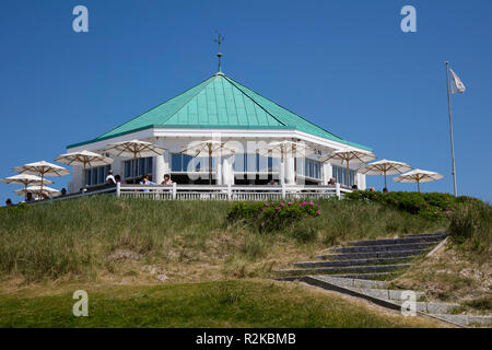 Traditional pub Marienhöhe, Norderney, East Frisian island, Lower saxony, Germany, Europe - Stock Photo
