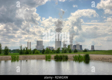 kraftwerk boxberg - Stock Photo