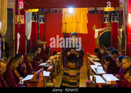 Gyantse, Pelkhor Choede Monastery - Stock Photo