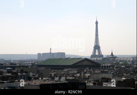one night in paris ... - Stock Photo