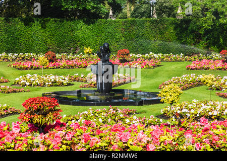 England, London, Regents Park, Queen Mary's Gardens - Stock Photo