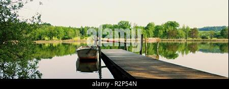 resting on the lake - Stock Photo