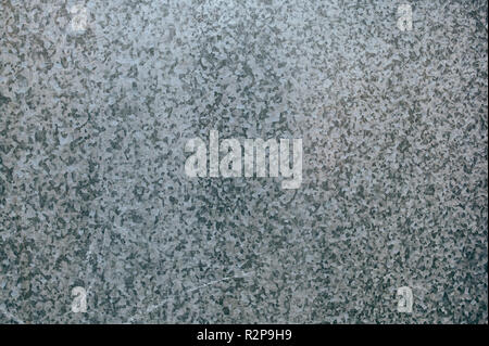 Galvanized zinc plated metal surface texture as industrial background - Stock Photo