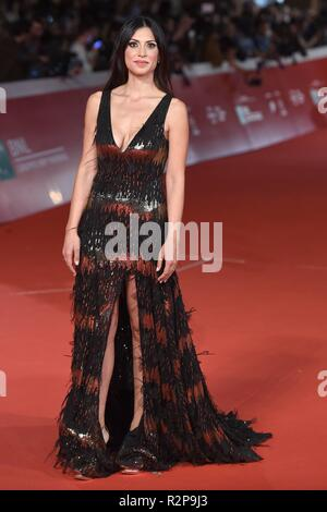 13th Annual Rome Film Festival - 'The House with a Clock in Its Walls' - Premiere  Featuring: Valeria Altobelli Where: Rome, Italy When: 19 Oct 2018 Credit: IPA/WENN.com  **Only available for publication in UK, USA, Germany, Austria, Switzerland** - Stock Photo
