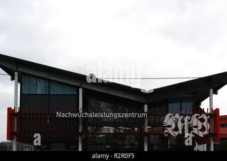 Nachwuchsleistungszentrum' (youth academy) of VFB Stuttgart football club at Mercedes-Benz Arena, Stuttgart - Stock Photo