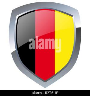 germany emblem - Stock Photo