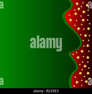 green christmas background - Stock Photo