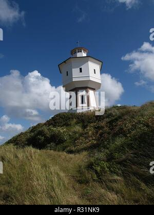 water tower on langeoog - Stock Photo