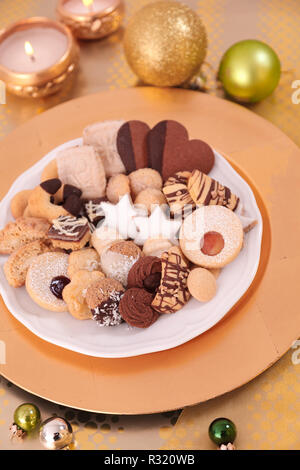 cookies,christmas biscuits,pastries - Stock Photo
