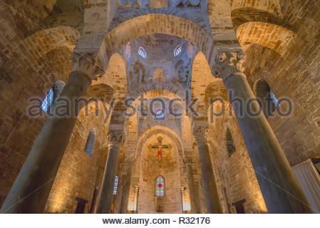 San Cataldo church, Palermo, Sicily, Italy, Europe, - Stock Photo