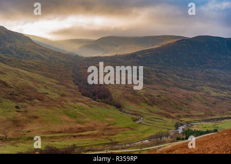 Glenalmond in the Perhshire highlands Scotland. - Stock Photo