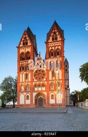 Cathedral (Dom), Limburg, Hesse, Germany - Stock Photo