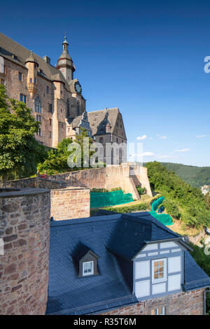 Landgrafenschloss, Marburg, Hesse, Germany - Stock Photo