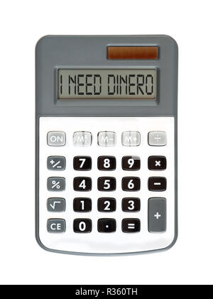 I need dinero - Stock Photo