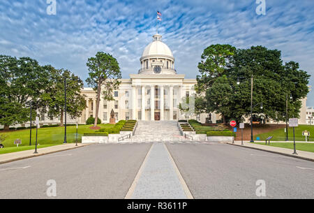 Alabama State Capitol in Montgomery - Stock Photo