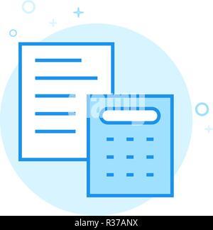 wedding estimate vector line icon wedding budget calculation